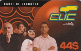 Lebanon, LB-CLC-REF-0014, 44$, Clic Recharge Card, Family, 2 Scans. - Lebanon