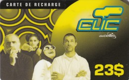 Lebanon, LB-CLC-REF-0005, 23$, Clic Recharge Card, Family, 2 Scans. - Lebanon