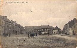 Herk De Stad Herck La Ville - La Place (animation, Edit. Uitg. Brems, 1907) - Herk-de-Stad