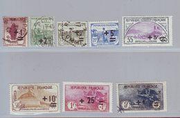 FRANCE 1922 - Série Y&T N° 162/169 - Oblitérés