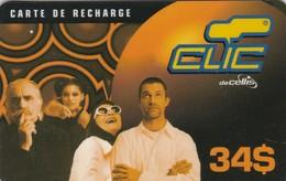 Lebanon, LB-CLC-REF-0011, 34$, Clic Recharge Card, Family, 2 Scans.  15/04/2002 - Lebanon
