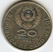 Cap Vert Cape Verde 20 Escudos 1982 Ramos KM 20 - Cape Verde