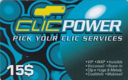 Lebanon, LB-CLC-REF-0006A, 15$, Clic Power, 2 Scans.  28/02/2002 - Lebanon
