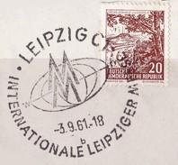 DDR 1961. Leipziger Messe Vollstempel - DDR