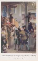 Massachusetts Boston Boston Tea Party Mural New England Mutual Life Insurance Building - Boston