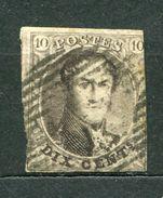 Belgien Nr.3 B        O  Used       (610) - 1849-1850 Medaillen (3/5)