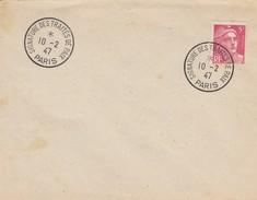 SIGNATURE DES TRAITES DE PARIS 10.2.47 - Marcophilie (Lettres)