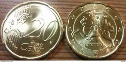 Eurocoins Lithuania 20 Cents 2017 UNC - Litauen