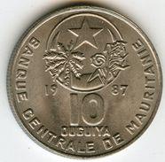 Mauritanie Mauritania 10 Ouguiya 1987 - 1407 KM 4 - Mauritania
