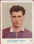Chromo Van Gassen Richard Beerschot VAC Football  Voetbal Belgie Belgian Chewing Gum Cy Antwerp - Sports