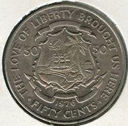 Liberia 50 Cents 1976 KM 31 - Liberia