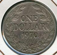 Liberia 1 Dollar 1970 KM 18a.2 - Liberia