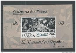 1981 MNH Espana, Spain, Picasso Type I, Postfris** - Blocs & Hojas