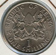Kenya 1 Shilling 1975 KM 14 - Kenya