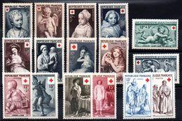 FRANCE - Lot Croix Rouge Neufs ** - MNH - Cote: 115,00 € - Frankrijk