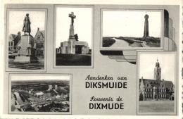 BELGIQUE - FLANDRE OCCIDENTALE - DIXMUDE - DIKSMUIDE - Souvenir De ... - Aandenken Van ... - Diksmuide