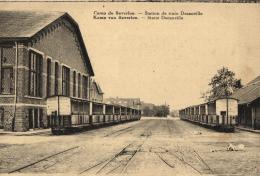 BELGIQUE - LIMBOURG - BERINGEN - BEVERLO - BEVERLOO- Camp De Beverloo - Station De Train Decauville. - Leopoldsburg