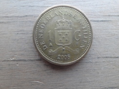 Antilles  Neerlandaises  1  Gulden  2008   Km 37 - Netherland Antilles
