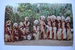 "CPA OCEANIE TAHITI. Célèbre Groupe De Danse Professionnelle Du ""tahiti Nui"". 1969. - Tahiti"