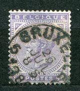 Belgien Nr.38        O  Used       (627) - 1869-1883 Leopold II.