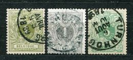 Belgien Nr.39/41        O  Used       (628) - 1869-1888 Lion Couché (Liegender Löwe)