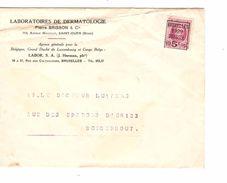 TP 273 Préo Roulette BXL 1929 S/L.En-Tête Laboratoires Dermatologie V.Borgerhout AP1217 - Médecine