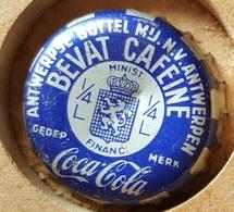 Vieille Capsules Kroonkurk COCA COLA BLEU - Soda