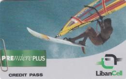Lebanon, LB-LBC-REF-0004?, Premiere Plus - Surfing, 2 Scans. Exp. : 02/09/2001 - Libanon