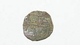1/2 Rupia 19 C.UFO . Copper - Butan