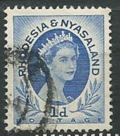 Rhodésie - Nyassaland  - Yvert N° 2 Oblitéré    - Ad 32410 - Nyasaland (1907-1953)