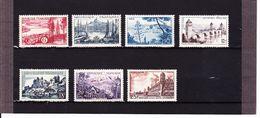 SéRIE TOURISTIQUE/NEUF*/UNE SéRIE DE 7  VALEURS /N° 1036/1042 YVERT ET TELLIER /1955 - France