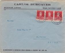 Brief In Die Schweiz (br1640) - Argentinien
