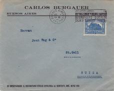 Brief In Die Schweiz (br1642) - Argentinien