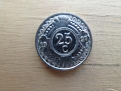 Antilles  Neerlandaises    25  Cents  1997  Km 35 - Antille Olandesi