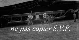 Guerre 14-18 AVIATION AVION CAUDRON 4 BIMOTEUR Gros Plan  Animé Négatif Par Militaire Escadrille VB 110 - 1914-18