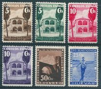 Spanien 1938: Wohlfartsmarken, Ungestempelt HUÉVAR Pro Beneficienca #B28 - Wohlfahrtsmarken
