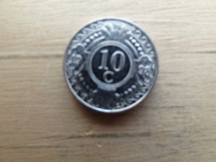Antilles  Neerlandaises    10  Cents  1998  Km 37 - Netherland Antilles