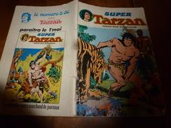 1956  SUPER TARZAN  Mensuel N° 4 - Tarzan