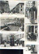 Lot De 6 Photos-cartes D'anciens Trams Anglais – POMKIN PRINTS, Croydon - Chemin De Fer