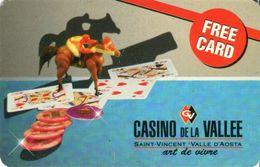 ITALIA KEY CASINO DE LA VALLEE -  SCHEDA CASINO' - - Casino Cards