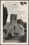 The Church Of St Mylor, Cornwall, C.1940s - RP Postcard - England