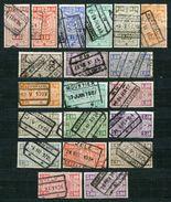 Belgien EP Nr.136/55        O  Used       (827) - Bahnwesen