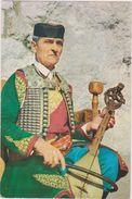 EX YOUGOSLAVIE,jugoslavija,MONTENEGRO,prés Croatie,CRNOGORSKI GUSLAR,MONTENEGRIN,MUSICIEN,GUERRIER - Montenegro