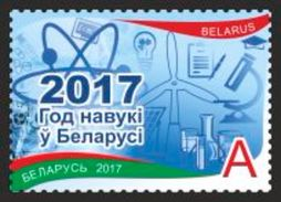 TH Belarus 2017 Year Of Science 1v MNH - Scienze