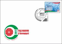 TH Belarus 2017 Year Of Science FDC - Sciences
