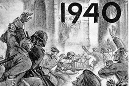 WW2 - Manifestation D'étudiants Le 11 Novembre 1940 Devant L'Arc De Triomphe - 1939-45