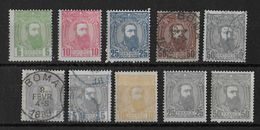CONGO BELGE - YT N°6/13B  */OB - - 1884-1894 Precursores & Leopoldo II