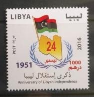 Libya 2016 NEW MNH Stamp - Independence Day, Flag - Libya