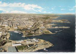 Brest Belle Vue Aérienne Le Port De Commeres Entrée De La Penfeld - Brest