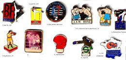BOXE_2 Pin's Au Choix - Boxing